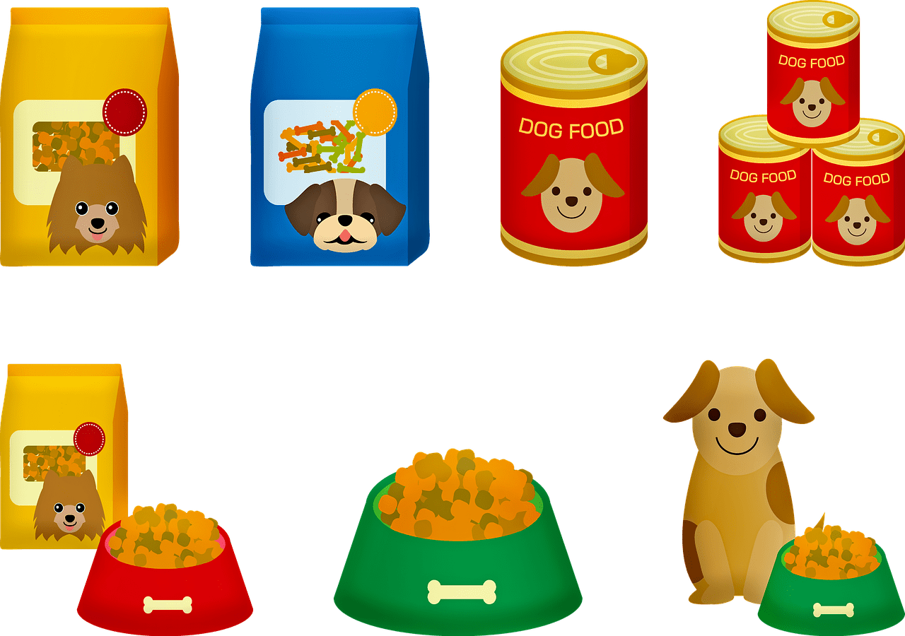 types of dog foods